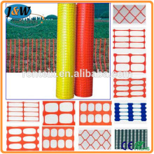 HDPE Plastic Fence Barrier, Plastic Warning Fence, Safety Fencing Orange