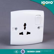 Tomada de parede elétrica da luz do Pin do projeto 3 do multi projeto novo padrão de Igoto E16