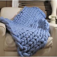 Χονδρικό Giant κουβέρτα μαλλί Merino Chunky Knit