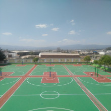 PVC Floor Outdoor Sports Court Basketball Court