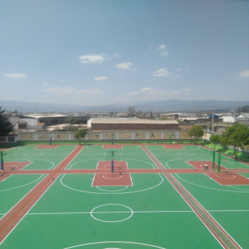 PVC Boden Outdoor Sports Court Basketball Boden