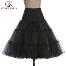 Grace karin Mujer Retro barato crinolina Underskirt cosecha 50 años enagua CL008922-1