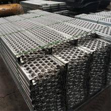 Gezahnte Metallschutzgitter für industrielle Treppenstufen