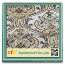 100% Polyester Sofa Chenille Tissu dernières chenilles jacquard designs