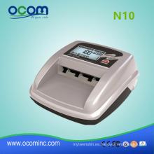 mini máquina portátil de detector de billetes