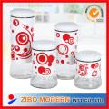 Round Glass Storage Jar