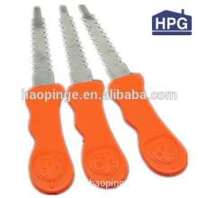 Plastic set of kitchen knives table knives mini plastic knives