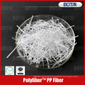 pp fiber for concrete crack resistance