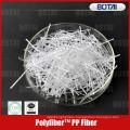 волокно PP для бетона трещиностойкость