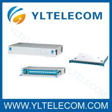 19 pouces 1U 24Core type coulissant fibre optique Patch Panel ODF fixe