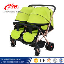 алибаба лучшие продажи детская коляска , 3 в 1 алюминиевый коляска , два сиденья детские коляски