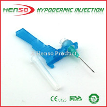 Henso Safety Hypodermic Needle (with protective holder)