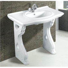 Hot Sale Modern Bathroom Ceramic Pedestal Basin