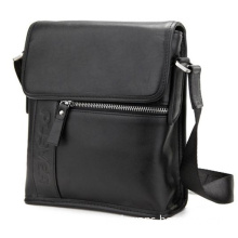 Man's Genuine Leather Business with Metal Teeth Zipper (RS-GR004)