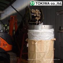 100% puro polipropileno virgem tratamento especial saco FIBC BIG. Design da TOKIWA. Feito no Japão (sucata de saco grande)