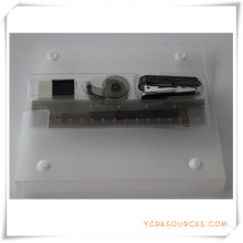 Set de papeterie de boîte de PVC pour le cadeau promotionnel (OI18003)