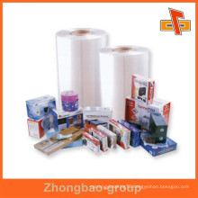 heat sensitive blow molding dust proof PVC material transparent car shrink wrap for toys