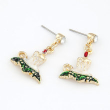 Wholesale handmade christmas dangling earring