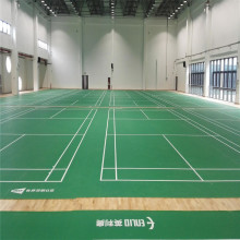 Halowa mata do gry w Badminton Court i Net Post