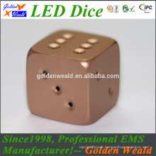 Red Green Blue LED lighting MCU control colorful LED aluminium alloy dice