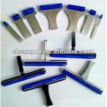 Rouleau collant de 6 po en silicone pour salle blanche, rouleau collant, rouleau en caoutchouc