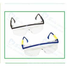 Schutzbrille mit weichem / hartem Tempel
