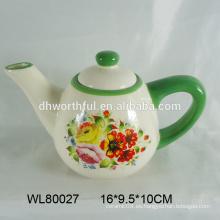 Caldera de agua de cerámica personalizada con calcomanía completa