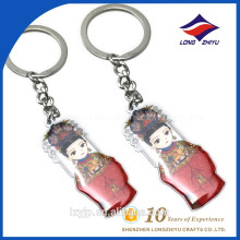 Traditional Chinese Symbol Love Wedding Cartoon Character Keychains