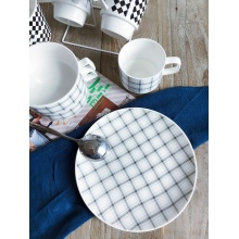 Chic Styling Porcelain Round Dinner Plates