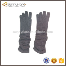 Customized fashion womens 100% cashmere gloves