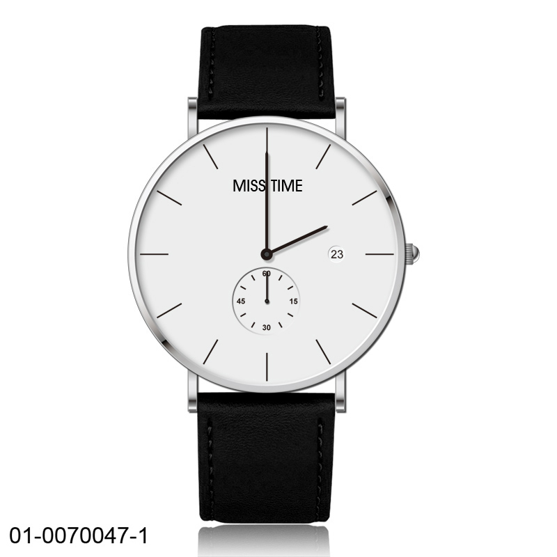 mininalist quartz watch 5 atm water resistant