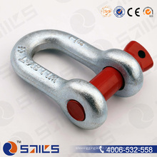 G-210 Goulotte galvanisée forgée Us Chain Shackle