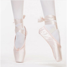 Ballet Pointe Dance Shoes Professional Ballet Dance Shoes with Ribbons Shoes Woman