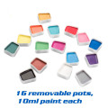 Hypoallergenic Water Based Face Paint Set With Stencil