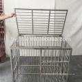 304 gaiolas de canil de aço inoxidável com abertura superior