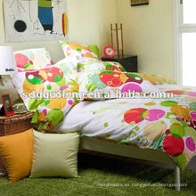 tela de popelina estampada 40 * 40 tela de algodón 100% textil