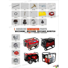 BISON China Taizhou China Lieferant Top-Qualität und niedrigen Preis Ersatzteile Kohlebürste für Generator