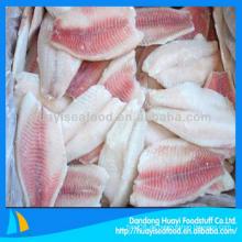 Frisches gefrorenes Tilapia Fischfilet mit bestem Preis