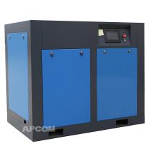 APCOM 2020 hot sale 45KW 60HP rotary screw air compressor blue color