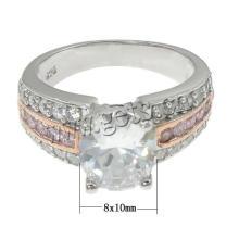 2015 Gets.com reloj de anillo de dedo antiguo de plata de ley 925