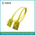 Plastci Sicherheitssiegel mit Barcode und Siegelnummer Typ 6