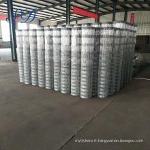 Le fil d'acier galvanisé a employé la clôture de barrière de Feild à vendre
