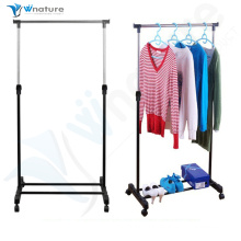 height adjustable laundy drying rack with 4 wheels from shenzhen,guangzhou,HongKong to