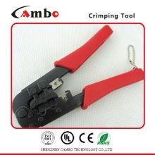 China Made fio elétrico ferramenta de crimpagem telefone espada lug 22-26awg Conector