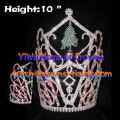 10inch Height Crystal Christmas Tree Crowns