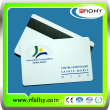 PVC Hico/Loco Silver Magnetic Strip Membership Loyalty Cards