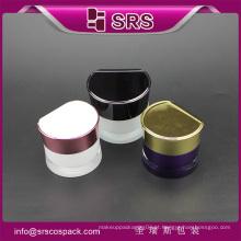 China Forma Redonda Cintura Alta Qualidade Novo Design Luxo Duplo Parede Acrílico Frasco Cosmético