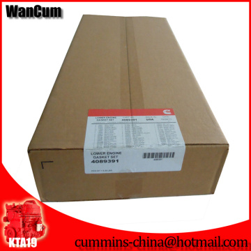 Горячая Распродажа Нижний 4089391 прокладки двигателя для CUMMINS К19 двигателя