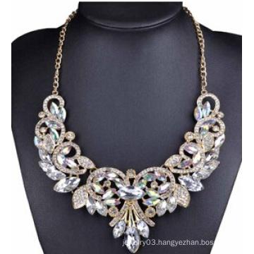 Glory Stone Full Drop Necklace (XJW13709)