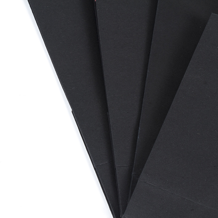 Top Fashion Unique Design Black Paper Bag